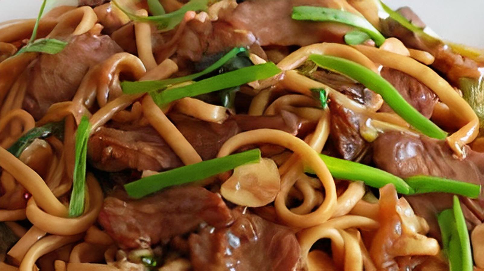 Mongolian Beef Teriyaki (Halal)