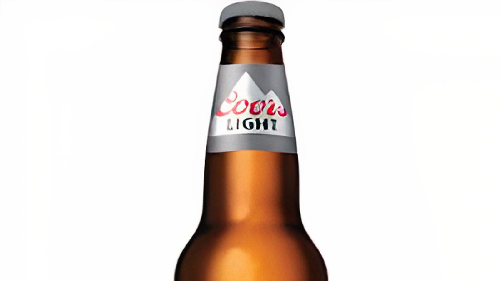 Coors Light, 12oz bottled beer (4.2% ABV)