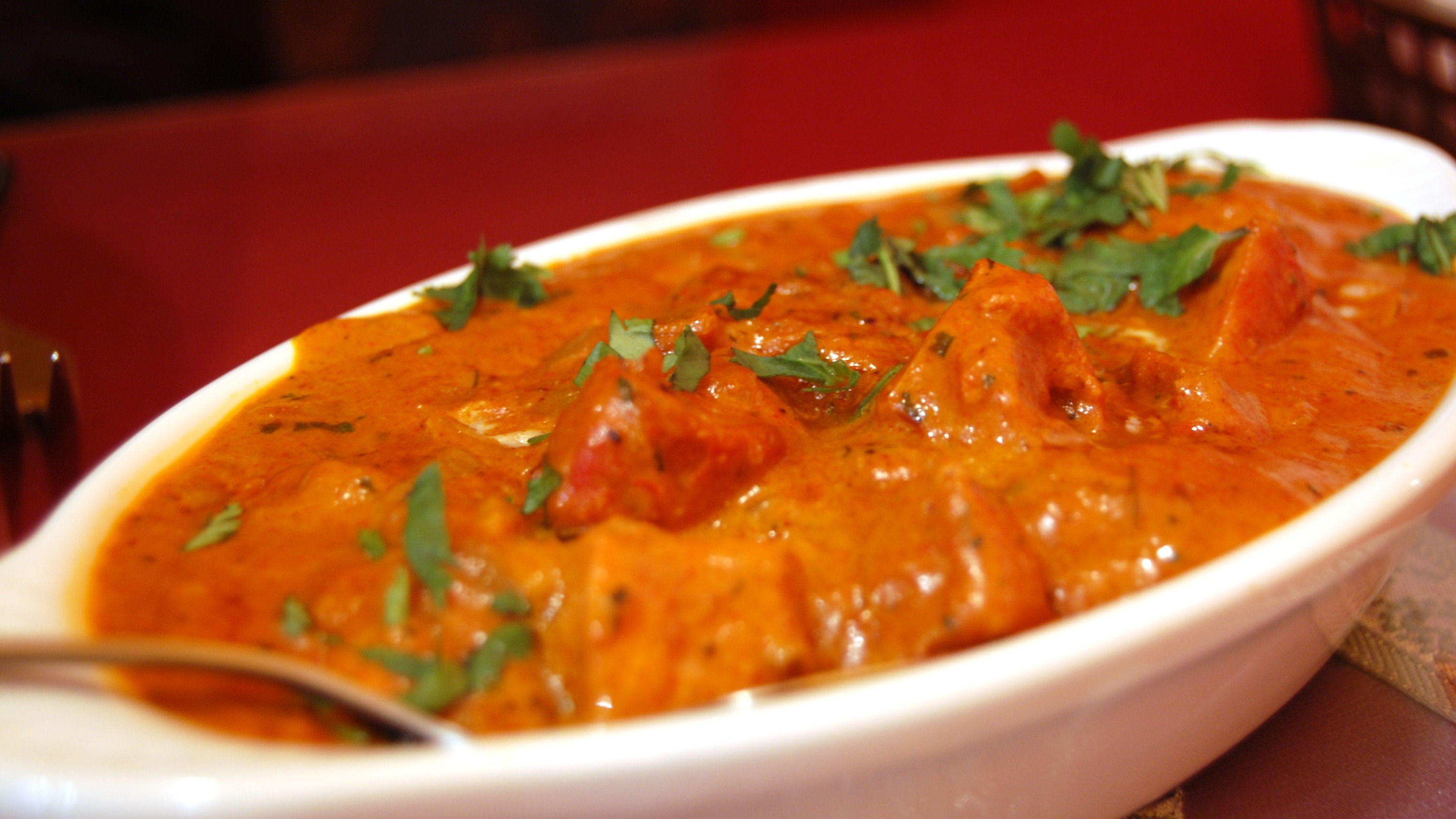 Bombay Butter Chicken (Soup & Rice Included)