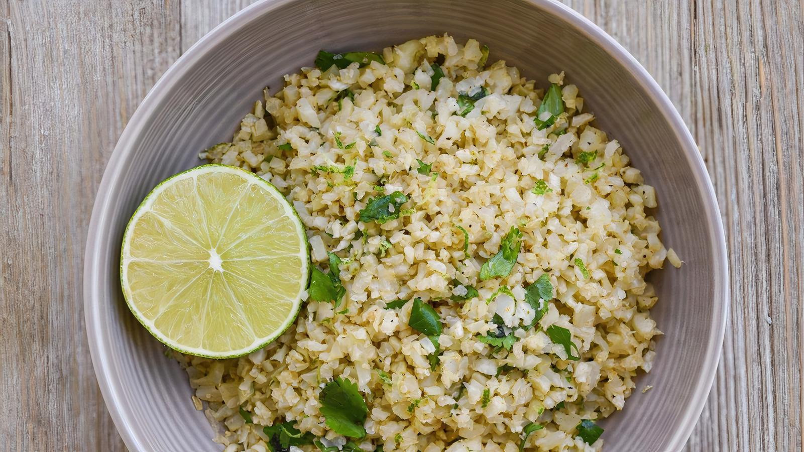 Side Cilantro Lime Cauliflower Rice