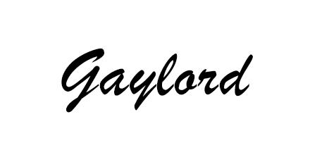 Gaylord Indian Restaurant Menu